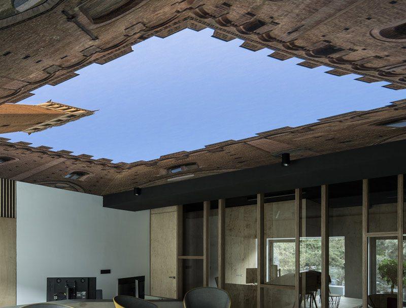 טפט לתקרה | שמיי המגדלור