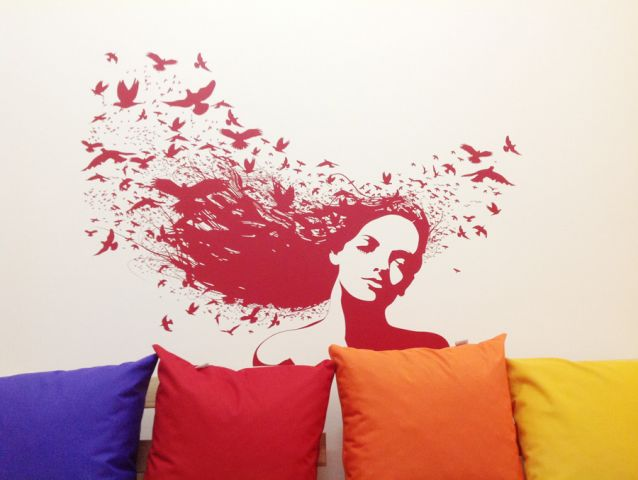 Wall branding in schools and colleges 3