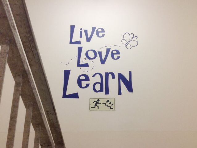 Wall branding in schools and colleges 2