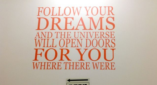 Wall branding in schools and colleges 9