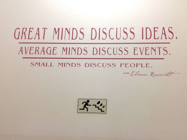 Wall branding in schools and colleges 13