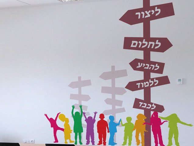 Wall branding in schools and colleges 18