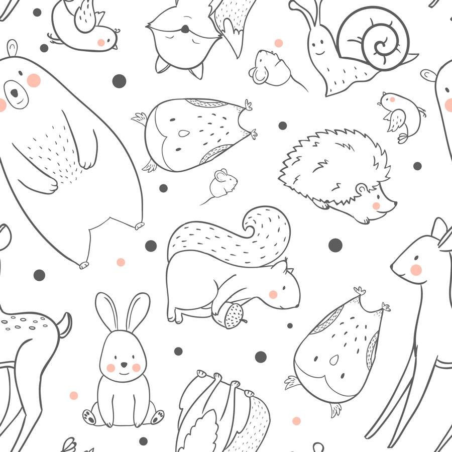 טפט – חיות לבנות ועדינות